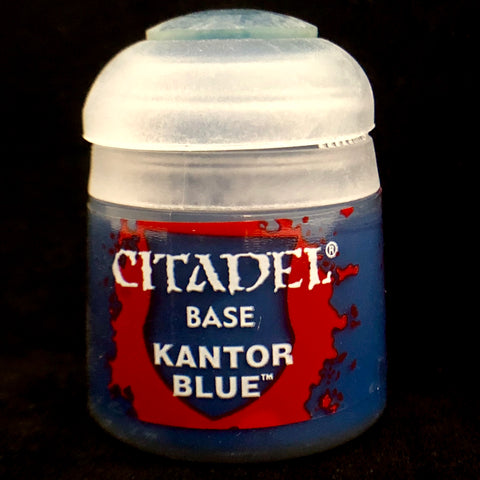 Games Workshop Citadel Base: Kantor Blue