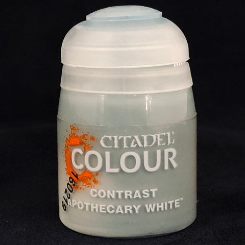 Games Workshop Citadel Contrast: Apothecary White