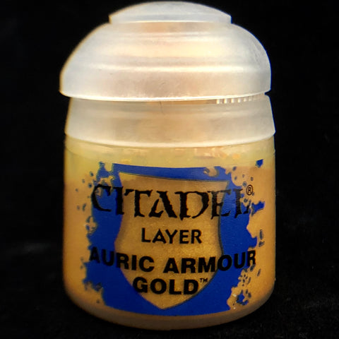 Games Workshop Citadel Layer: Auric Armor Gold
