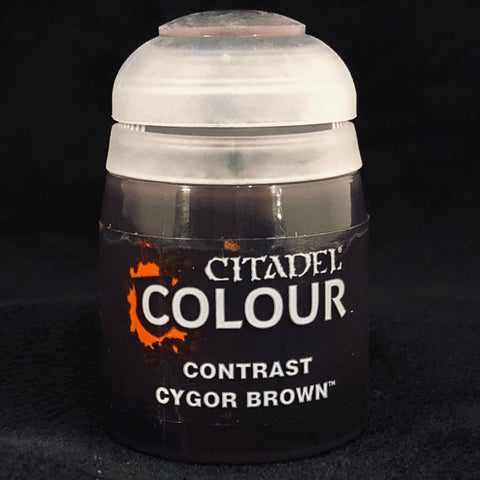 Games Workshop Citadel Contrast: Cygor Brown