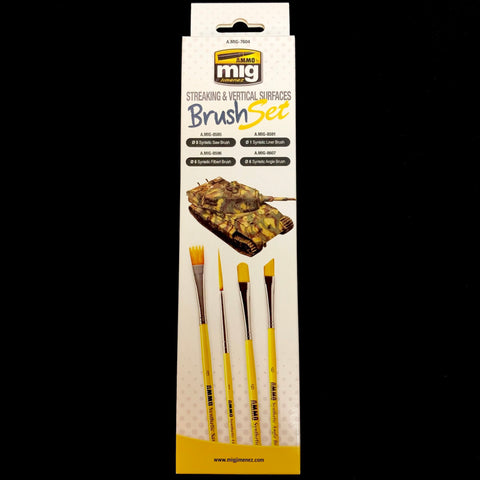 AMMO: Streaking & Vertical Surfaces Brush Set
