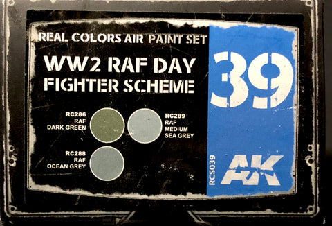 AK Interactive Real Colors- WW2 RAF Day Fighter Scheme