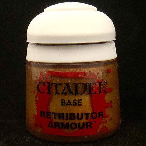 Games Workshop Citadel Base: Retributor Armor
