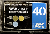 AK Interactive Real Colors- WW2 RAF Desert Colors