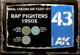 AK Interactive Real Colors- RAF Fighters 1950s