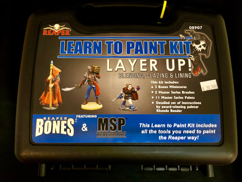 Reaper Miniatures Learn to Paint Kit-Layer Up! #08907