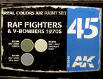 AK Real Colors: RAF Fighters & V-Bombers 1970s