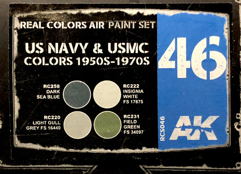 AK Real Colors: US Navy & USMC Colors 1950s-1970s