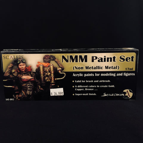 Scale 75 NMM (Non Metallic Metal) Paint Set (Warm Colors)