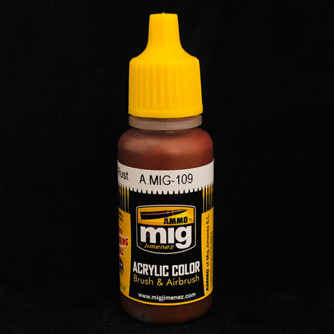 Ammo Acrylic Color: AMIG0109 Washable Rust