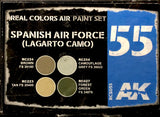 AK Real Colors: Spanish Air Force (Lagarto Camo)