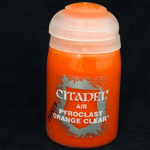 Games Workshop Citadel Air: Pyroclast Orange Clear