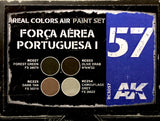 AK Real Colors: Força Aérea Portuguesa I 'WRAP-AROUND 1990s' (A-7 CORSAIR, FIAT G.91, AVIOCAR, FTB)