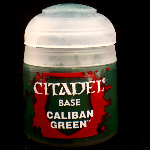 Games Workshop Citadel Base: Caliban Green