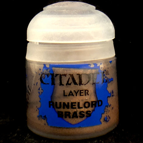 Games Workshop Citadel Layer: Runelord Brass