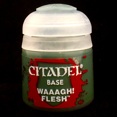 Games Workshop Citadel Base: Waaagh! Flesh