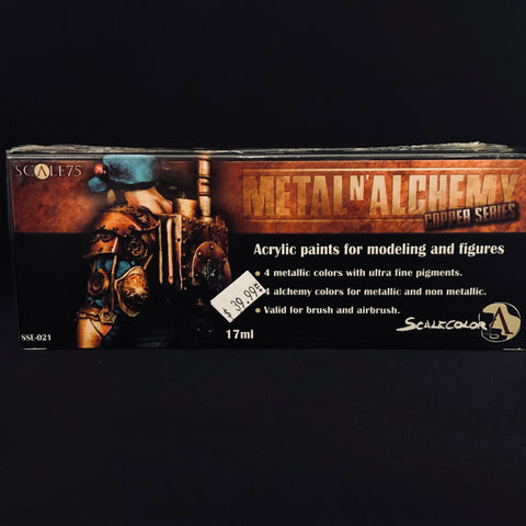 Scale 75 Metal n' Alchemy Copper Series Paint Set