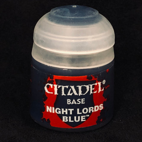 Games Workshop Citadel Base: Night Lords Blue