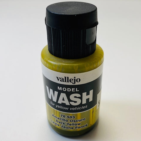 Vallejo Model Wash For Yellow Vehicles Dark Yellow 76.503 35 ML.