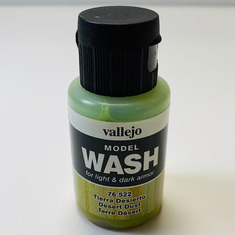 Vallejo Model Wash For Light And Dark Armor Desert Dust 76.522 35ML.