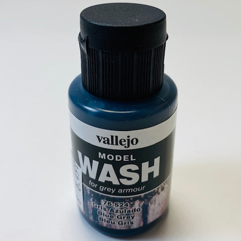 Vallejo Model Wash For Grey Amour Blue Grey 76.524 35ML.