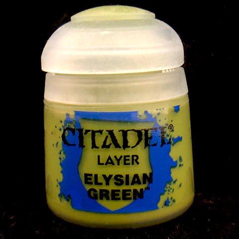 Games Workshop Citadel Layer: Elysian Green