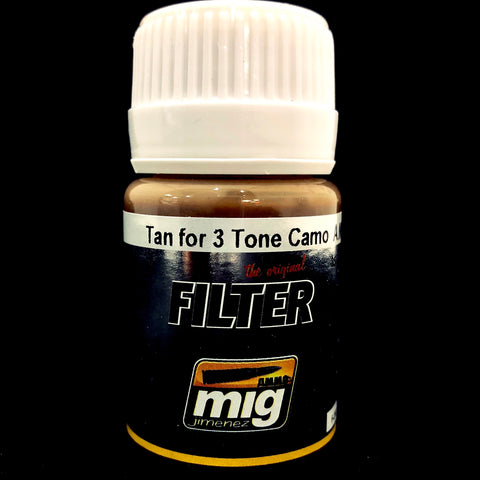 Ammo Filter-Tan for 3 Tone Camo