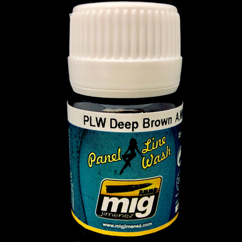 Ammo Panel Line Wash-Deep Brown