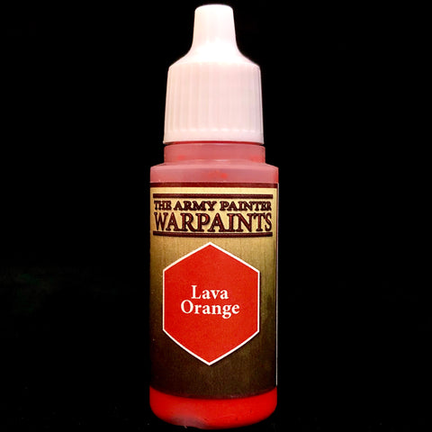 The Army Painter Warpaints Acrylic: Lava Orange