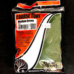 Woodland Scenics Coarse Turf- Medium Green