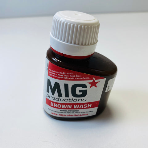 Mig productions Brown Wash P221 75 ML.