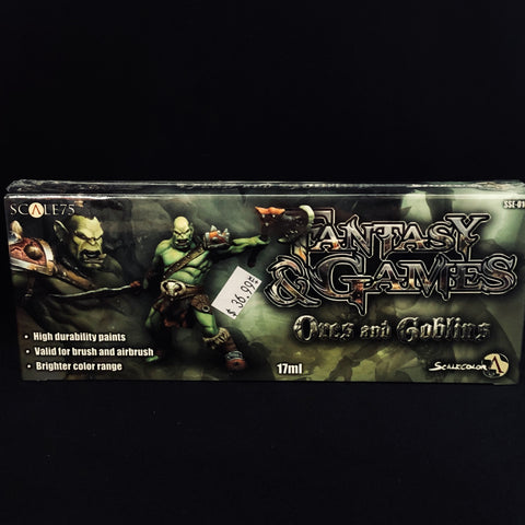Scale 75 Fantasty & Games Orcs & Goblins Paint Set