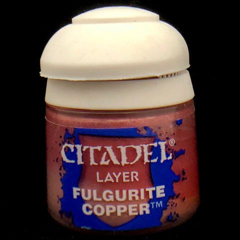 Games Workshop Citadel Layer: Fulgurite Copper