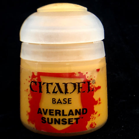 Games Workshop Citadel Base: Averland Sunset