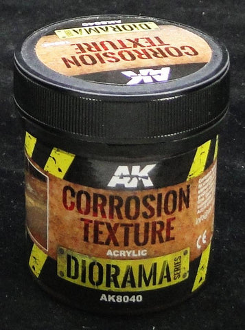 Corrosion Texture - AK Weathering and Basing Effect