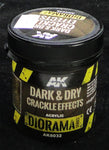 Dark & Dry Crackle Effect Texture - AK Weathering and Basing Effect