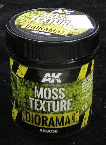 Moss Texture Effect - AK Weathering and Basing Effect
