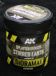 AK Interactive Acrylic Diorama Series- Splatter Effects Stirred Earth
