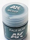 AK Interactive Acrylic Varnish- Pale Blue RC017