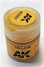 AK Interactive Acrylic Varnish- Yellow RC007