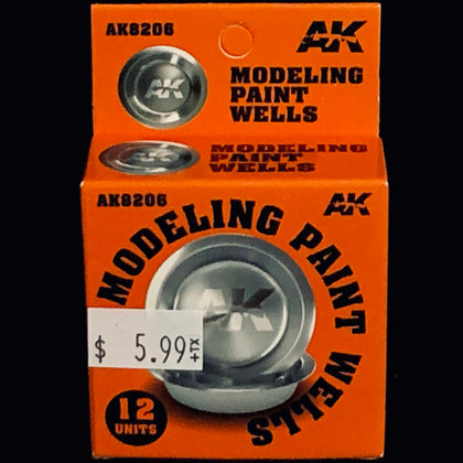 AK Interactive Modeling Paint Wells