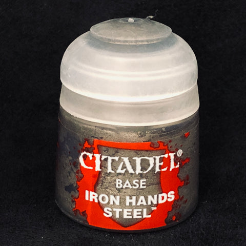 Games Workshop Citadel Base: Iron Hands Steel