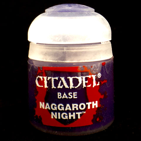 Games Workshop Citadel Base: Naggaroth Night
