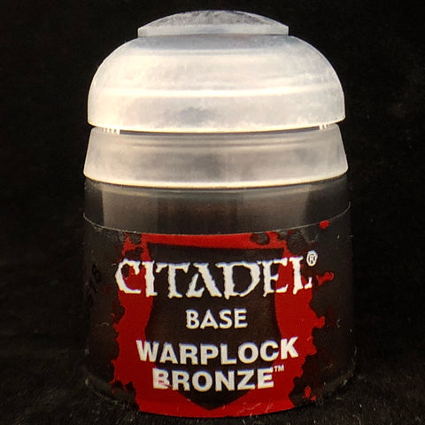 Games Workshop Citadel Base: Warplock Bronze