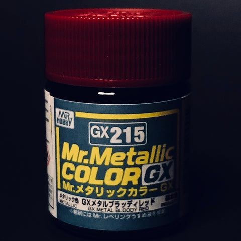 Mr. Metallic Color GX Metal Bloody Red #215