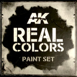 AK Interactive Real Colors- Israeli AF Early Desert Colors
