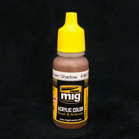 Ammo Acrylic Color: AMIG0912 Red Brown Shadow