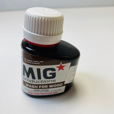 Mig Productions Wash For Wood P225 75 ML.