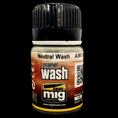 Ammo Enamel Wash-Neutral Wash