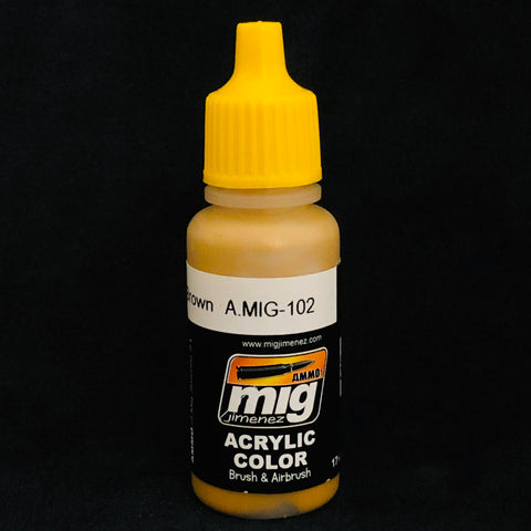 Ammo Acrylic Color: AMIG102 Ochre Brown